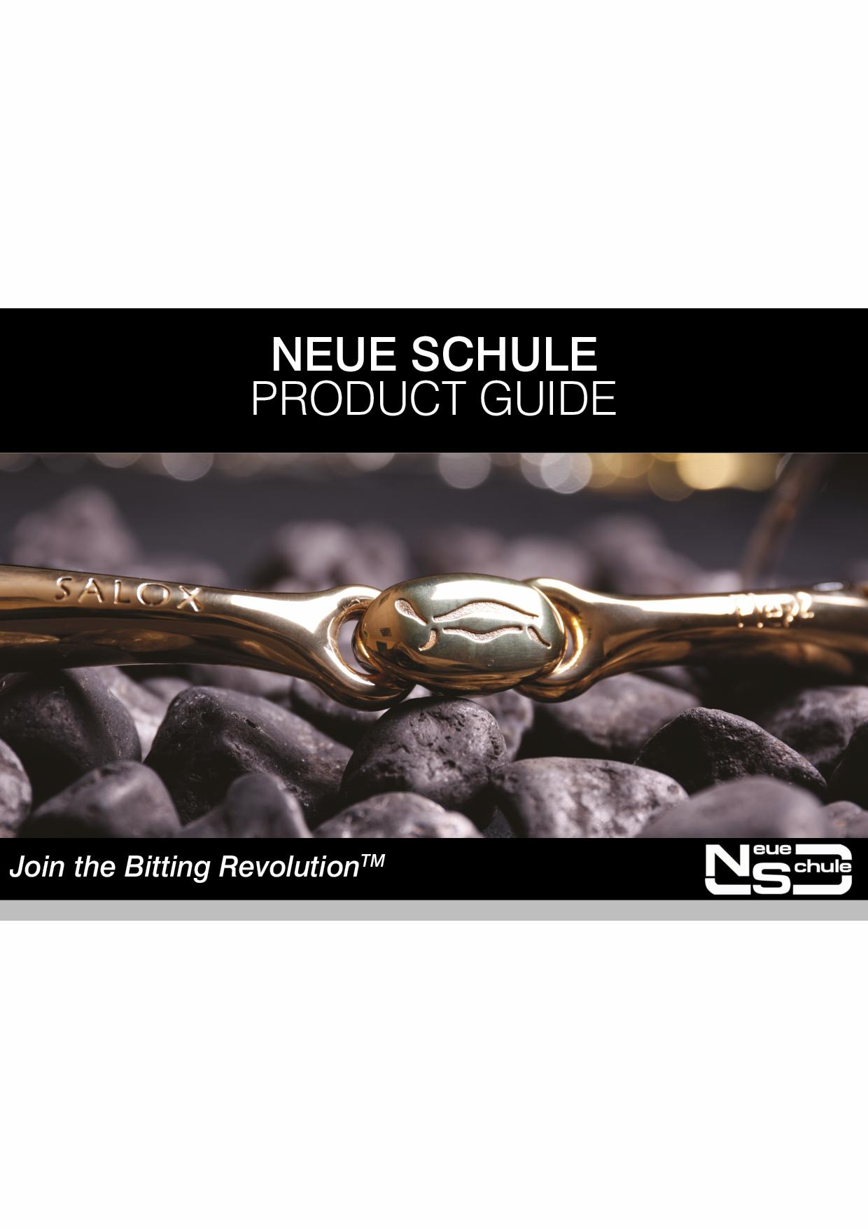 Neue Schule Product Guide
