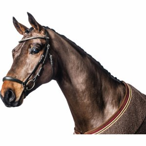 Eco bridle w/ curved drop noseband
