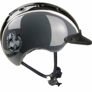 Casco Nori 2018 black-grey shiny XS 50-5