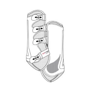 CATAGO Hybrid dr. boots white S
