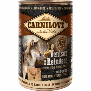 Canned Venison & Reindeer