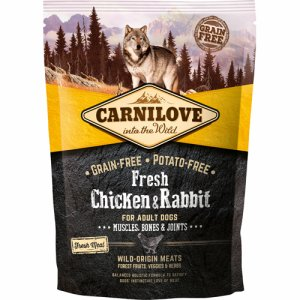 Carnilove Chicken+Rabbit f/Adult Dogs 1,