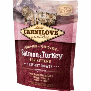 Salmon&Turkey f/Kittens – Healthy Growth