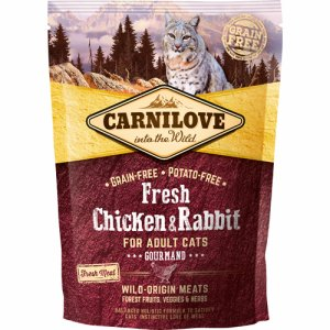 Carnilove Chicken+Rabbit f/Adult cats 40