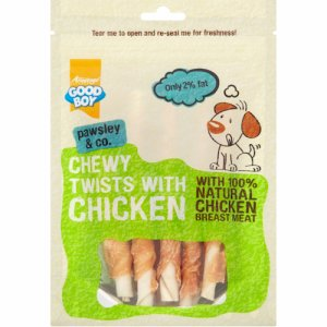 Chewy Twists with Chicken 90 g