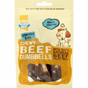 Chewy Beef Dumbbells 100 g