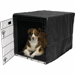 Fabric crate cover