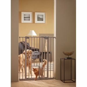 Dog barrier with small opening
