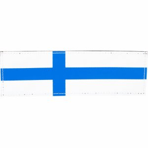 Finnish flag 110x30 mm