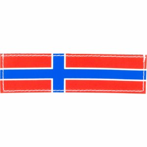 Norwegian flag 110x30 mm