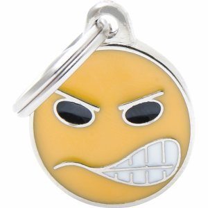 Tegn charms, emoticon angry
