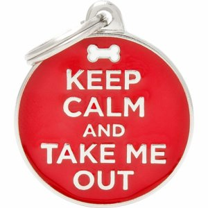 Tegn charms, keep calm/out