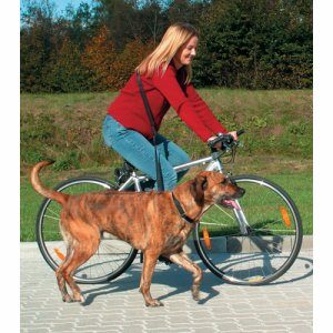 Bicycle and jogging leash