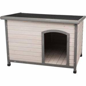 natura flat roof dog kennel