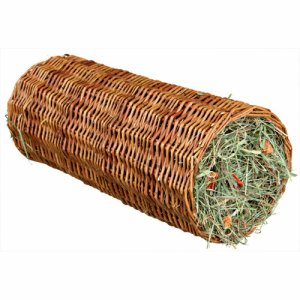 Wicker Tunnel with Hay