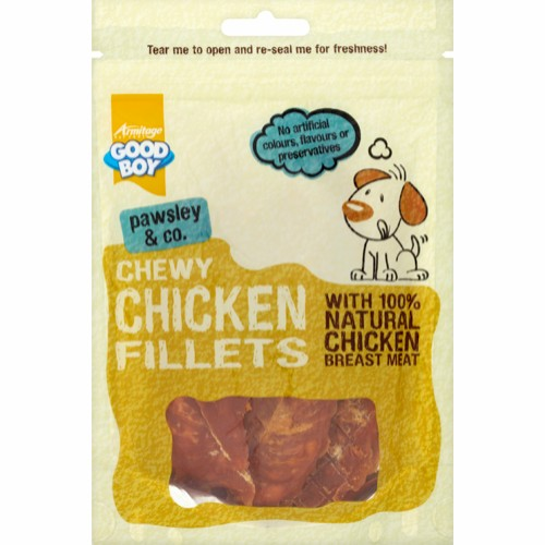 Chewy Chicken Fillets