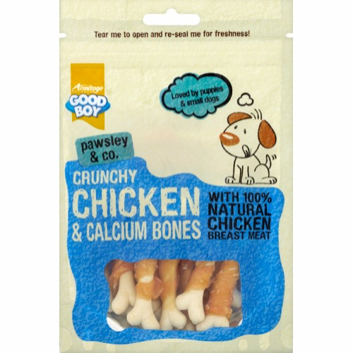 Crunchy Chicken & Calcium Bones