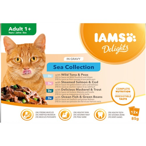 Delights Adult Sea collection in Gravy