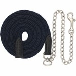 Leadrope w/chain and snap