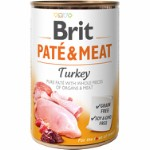 Brit Pate & Meat Turkey 400 g