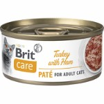 Care Cat Turkey Paté with Ham