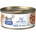 Care Cat Beef Paté with Olives