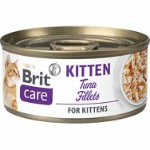 Care Cat Kitten. Tuna Fillets