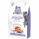 Brit Care Cat GF Sterilized Weight Contr