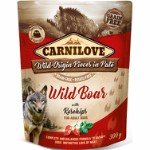 Carnilove Pouch Pate Wild Boar with Rose