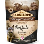 Carnilove Pouch Pate Buffalo with Rose P
