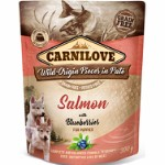 Carnilove Pouch Pate Salmon with Blackbe