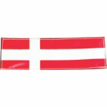Danish flag, 160x50 mm