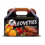Leoveties tummy tickler orange