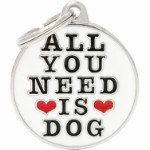 MyFa tegn charms, all you need is dog
